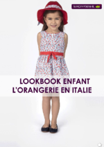 Catalogues et collections Sergent Major : Lookbook enfant L'orangerie en italie