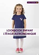 Catalogues et collections Sergent Major : Lookbook enfant L'étage astronomique