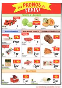 Prospectus Carrefour Market GISTEL : Les promos du frais
