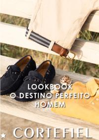 Catálogos e Coleções Cortefiel Alfragide Alegro : Lookbook: O destino perfeito - homem