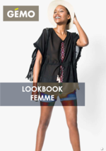 Catalogues et collections Gemo : Lookbook femme