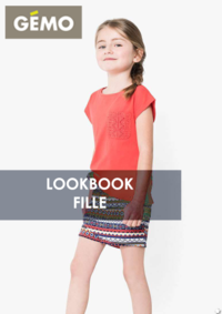 Catalogues et collections Gemo GENNEVILLIERS : Lookbook fille
