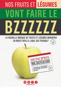 Journaux et magazines Monoprix SOISY sous MONTMORENCY : Nos fruits et légumes vont faire le BZZZZZZ