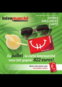 Prospectus Intermarché Clabecq - Tubize : En juillet, la carte Intermarché vous fait gagner 822 euros !