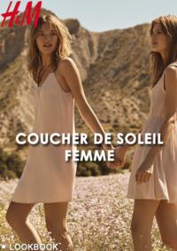 Catalogues et collections H&M Vélizy Villacoublay : Lookbook femme Coucher de soleil