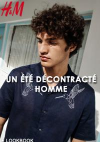 Catalogues et collections H&M La Défense : Lookbook homme Un été décontracté