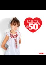 Promoções e descontos Zippy : Saldos até -50%
