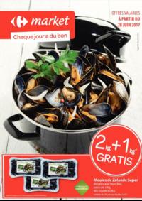 Prospectus Carrefour Market TUBIZE Rue de la Déportation : Chaque jour a du bon