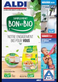 Prospectus Aldi Epinay-sur-Seine : Simplement bon et bio