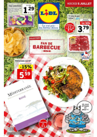 Prospectus Lidl PARIS 24-28 rue Henri Labrouste : Sélection fan de barbecue