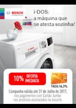Promoções e descontos Jumbo : Bosch 10% Oferta Imed. Cartão Jumbo