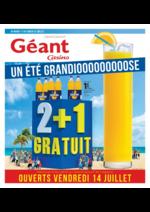 Prospectus Géant Casino : Un été grandiooooooooose