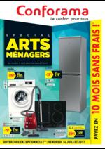 Prospectus Conforama : Spécial Arts Ménagers