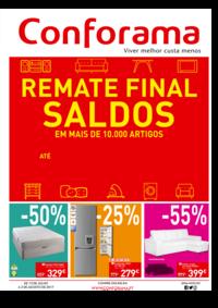 Folhetos Conforama Setúbal : Remate final - Saldos