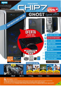 Folhetos CHIP7 Gondomar : Special edition GHOST
