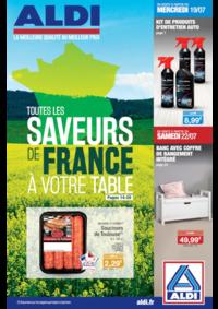 Prospectus Aldi St-Brice-sous-Forêt : Toutes les saveurs de France à votre table