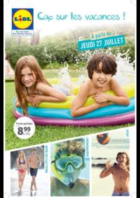 Prospectus Lidl MASSY ZAC du Moulin - Avenue du Bel Air : Cap sur les vacances !