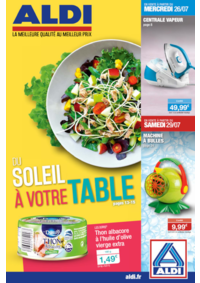Prospectus Aldi Asnières-sur-Seine : Du soleil à votre table