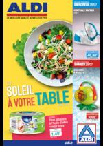 Prospectus Aldi : Du soleil à votre table