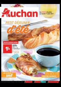 Prospectus Auchan Plaisir : Petit déjeuner d'été