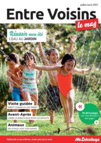Journaux et magazines Mr Bricolage CACHAN : Entre voisins Le Mag