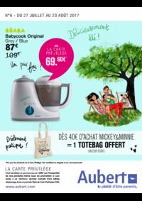 Prospectus Aubert PARIS : Délicieusement été !