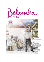 Catalogues et collections  : Belambra clubs hiver 2017-2018