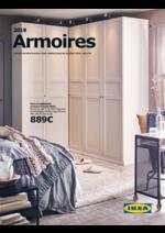 Catalogues et collections IKEA : Catalogue Armoires 2018