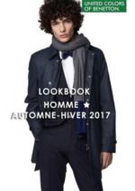 Promos et remises  : Lookbook Homme automne-hiver 2017