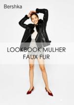 Promoções e descontos  : Lookbook mulher Faux fur