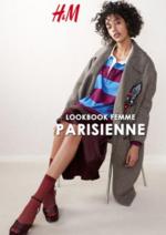 Catalogues et collections H&M : Lookbook femme Parisienne