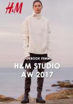 Catalogues et collections H&M : Lookbook femme H&M Studio automne hiver 2017