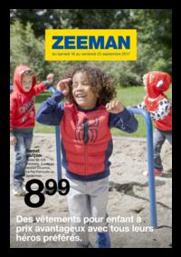 Prospectus Zeeman Champion : Des vêtements pour enfant à prix avantageux avec tous leurs héros préférés