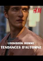 Catalogues et collections H&M : Lookbook homme Tendances d'automne