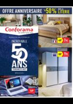 Prospectus Conforama : Incroyable 50 ans Tendances nuit