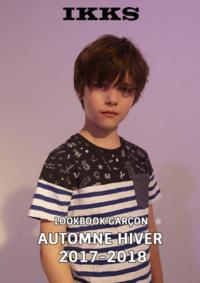 Catalogues et collections IKKS Femmes OBERNAI : Lookbook garçon automne hiver 2017-2018