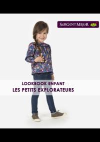 Catalogues et collections Sergent Major ILLKIRCH : Lookbook enfant Les petits explorateurs
