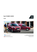 Tarifs opel : Opel combo Cargo