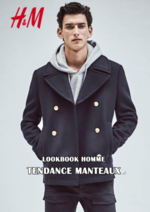 Catalogues et collections H&M : Lookbook homme Tendance manteaux