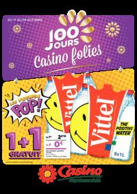 Prospectus Supermarchés Casino POISSY : Les 100 jours Casino folies V