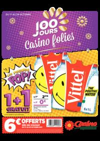 Prospectus Supermarchés Casino ANDRESY : Les 100 jours Casino folies V