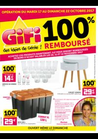 Prospectus Gifi CHAMBLY : 100% remboursé