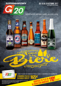 Prospectus G20 PARIS 1 Louvre : Foire à la bière
