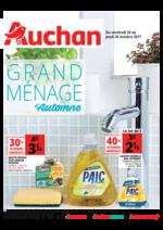 Prospectus Auchan : Grand ménage d'automne