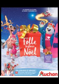 Catalogues et collections Auchan Val d'Europe Marne-la-Vallée : La folle histoire de Noël