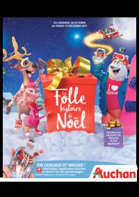 Catalogues et collections Auchan MAUREPAS : La folle histoire de Noël
