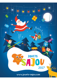 Catalogues et collections Jouets Sajou Le Vésinet : Catalogue de Noël 2017