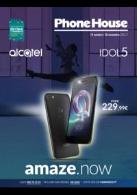 Folhetos The Phone House Alcochete Freeport : Catálogo de Novembro