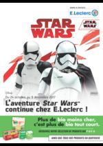 Prospectus E.Leclerc : L'aventure Star Wars continue chez E.Leclerc