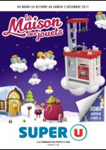 Catalogues et collections Super U : La maison des jouets